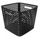 black square multipurpose basket