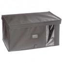 caja de almacenamiento 50x30x25 gris claro, gris c