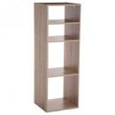 wood shelf 2 + 2case mix nat