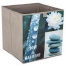 tároló doboz 31x31 zen taupe, taupe
