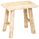 woody stool, brown