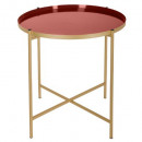 kylian living coffee table, dark red