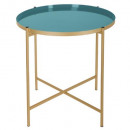 kylian coffee table, blue