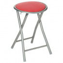 grossiste Sports & Loisirs: tabouret pliant basic rouge
