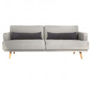 sofa banquette jack 3pl, light gray