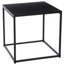 table cafe gota 40x40cm, noir