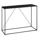 wholesale furniture: gota metal console, black