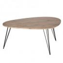 table basse neile mm 97x65, marron