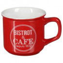 mug bistrot 3 42cl, 4-fois assorti, multicolore