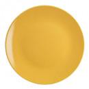 plato plato colorama amarillo 26cm, amarillo