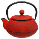 mini doty red tea pot 0.6l