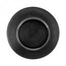 Borden plat zwart jem 28cm
