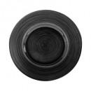 assiette dessert jem noire 21cm, noir
