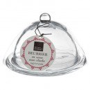 beurrier verre cloche 14x10cm