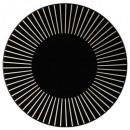 plato plano sol negro 27cm