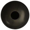 plato hueco sol negro 19cm