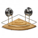 metalen hoekplank + bamboe