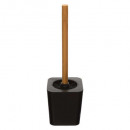 black toilet brush black, black
