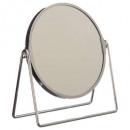 miroir balancoire chrome, argent