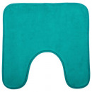 wholesale Bath & Towelling: WC memoi 48x48 turquish contour mat, dark pink