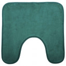 wholesale Bath & Towelling: WC memo 48x48 contour mat green, dark green