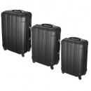 wholesale Suitcases & Trolleys:black x3 suitcase, black