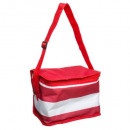 red cooler bag 4,5l, red