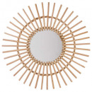 wholesale Mirrors: sun rattan mirror d58, colorless