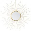 wholesale Home & Living: mirror metal sun d66, gold