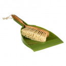 wholesale Cleaning: bamboo brush shovel, green