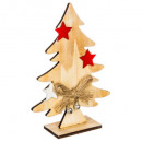 artificial tree wood knot star 15cm