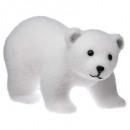 díszítő jegesmedve 4patt 21cm