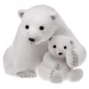 Decoración oso + baby sitting 25cm.