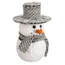 mayorista Decoración: plf bola de navidad sombrero bufanda 18cm