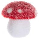 kerstdecoratie plf champignon erwt h8cm