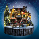 christmas village round mm lm, 2- times assorted
