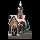 karácsonyi falu könnyű templom / mv / ms, multic