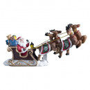 wholesale Home & Living: Christmas village accessories Santon sleigh, multi