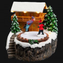wholesale Home & Living: christmas village house skate lm / mv