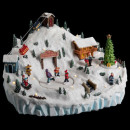 christmas village ski resort lm / mv