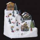 groothandel Woondecoratie: kerstdorp skipiste montaguirlande lm / mv /