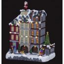groothandel Woondecoratie: kerstdorp lm / mv wijkwinkels