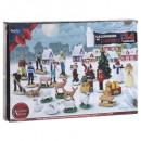 Christmas village accessories santon calendar aven
