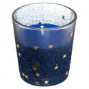 candle in tealight glass h8 pail christmas ball