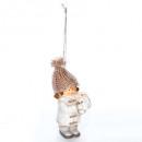 dekoracja świąteczna ceramiczne dziecko + mała kul
