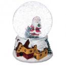 decoration ball snow Santa Claus music 100mm, 2-fo