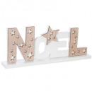 lettere di legno di decorazione socchiuse