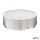 candelita vela gm blanco x 6, blanco