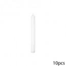bougie btnx10 blanc 54g 2.1x20, blanc