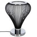 fekete szivárgás drót lámpa h45, fekete